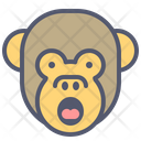 Monkey Shout Icon
