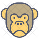Monkey Sad Icon
