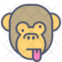 Monkey Naughty Icon