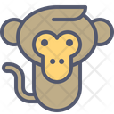 Monkey Baby Icon