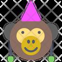 Monkey Party Icon