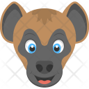 Brown Monkey Baby Icon