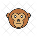 Monkey Animal Chimpanzee Icon
