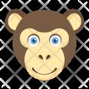 Gorilla Monkey Hairy Icon
