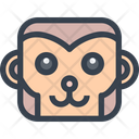 Monkey Monkey Face Smile Icon