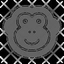 Monkey Ape Chimp Icon