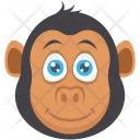 Monkey Jungle Forest Icon
