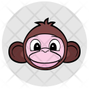 Monkey Face Avatar Icon