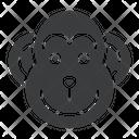 Ape Chinese Zodiac Icon