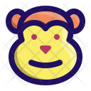Monkey Ape Chimp Icon