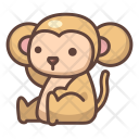 Monkey Animal Wild Icon