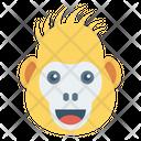 Monkey Animal Zoo Icon