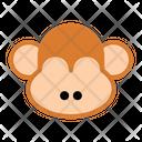 Monkey Animal Cartoon Icon