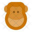 Monkey Animal Animals Icon
