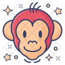 Monkey Wild Animal Mammalian Icon