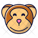 Monkey Ape Animal Icon