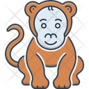 Monkey Lemur Chimpanzee Icon