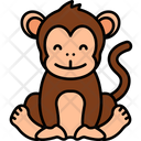 Monkey Animal Forest Icon