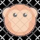 Monkey Primate Ape Icon