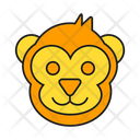 Monkey Animal Face Icon