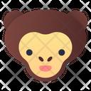 Monkey Animal Jungle Icon