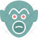 Baboon Macaque Monkey Icon