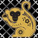 Monkey Zodicc Sign Chinese Zodics Icon