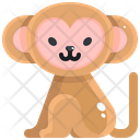 Monkey Wildlife Wild Icon