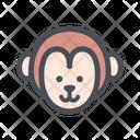 Monkey Pet Cute Icon