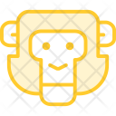 Monkey Animal Zoo Icon
