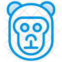 Monkey Animal Gorilla Icon