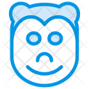 Monkey Puppy Animal Icon