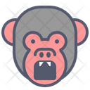 Monkey Angry Icon