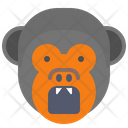 Monkey Angry Icon