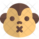 Monkey Closed Mouth Icon