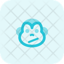 Monkey Confused Icon
