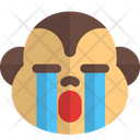 Monkey Crying Icon
