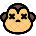 Monkey Death Icon
