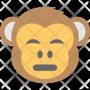 Monkey Emoji Sad Icon