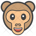 Monkey Face Icon