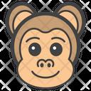 Money Face Monkey Head Emoji Icon