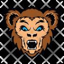 Monkey Face Cercopithecidae Face Monkey Mascot Icon