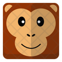 Monkey Head Icon