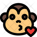 Monkey Kiss Icon