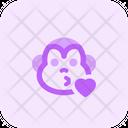 Monkey Kiss Icon