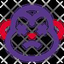 Monkey Sad Death Icon