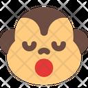 Monkey Sleepy Icon