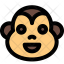 Monkey Smiling Icon
