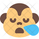Monkey Snoring Icon