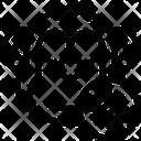 Monkey Virus Icon